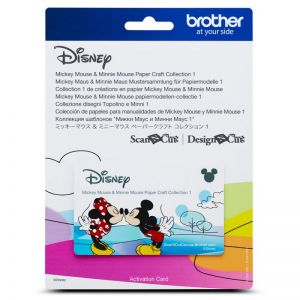 Collection 1 de gabarits Mickey Mouse et Minnie Mouse